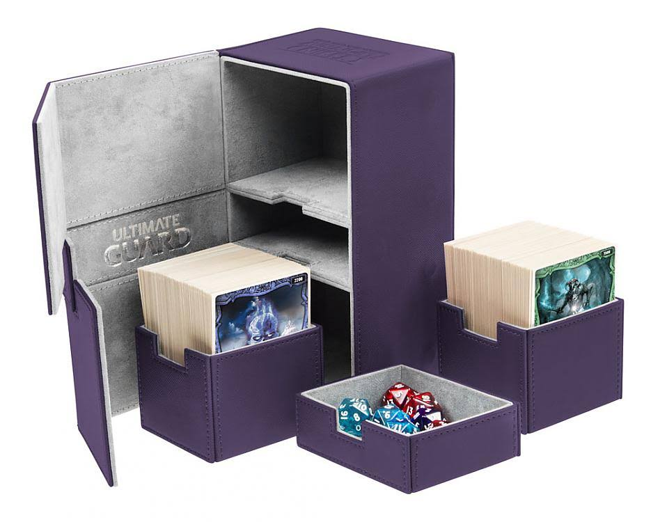 Ultimate Guard Twin Flip-N-Tray Deck Box - Purple