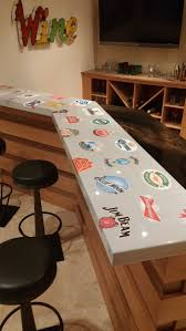 33 Best Epoxy Resin Bar Tops Images On Pinterest | Bar Tops, Resin ... Homebrewing Diy Fishing A Beer Cap Bar Top W Epoxy Keezer Lid 28 Best Epoxy Bar Tops Images On Pinterest Tops Resin Countertops Countertop For Kitchen Home The Salon Art Design Brings To Everyday Life Coffee Table Youtube Install Penny In Your Make Clear Top Designs Tutorial Tabletop Diy Resin Google Search Man_cave Inspiration Refinished With Persalizations And Two Part Best