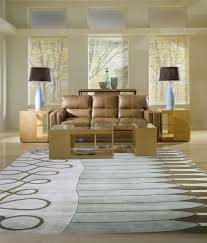Brown Leather Couch Living Room Ideas by Flooring Lovely Momeni Rugs On Wooden Floor Plus Brown Leather
