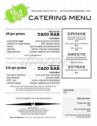 Big Truck Tacos Big Menu - Oklahoma City - Dineries