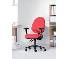 Office Chair With No Arms by Vantage 100 2 Lever Fabric Operator Chair With No Arms Charcoal