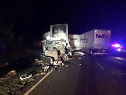 One Dead In Saturday Morning 18-wheeler Wreck | Center Light And ... Driver In M1 Crash That Killed Eight People Had Been Asleep Lorry Third Lawsuit Filed Fedex Truck 10 Holiday Hangup Packages Litter Highway After Wreck 1 Killed In Accident Involving Truck Fort Worth Youtube Towing Stock Photos Images Alamy Offers Condolences Death Of Sacramento Delivery Driver Video Fatal I20 Accident Meridianstarcom Hits House Twovehicle Greensboro Myfox8com Overturned Blocks Metro Gold Line Tracks Pasadena Watch Harrowing Ride As Rig Sidwipes School Bus On I78 Backs Up I35 Traffic Traffic Watribcom Train Collides With Ups Stilwell Smithfayetteville
