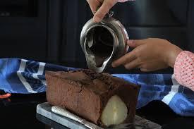 si e poire le cake chocolat et poires casserole chocolat