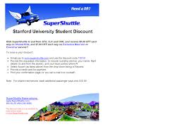 Airport Shuttles   Stanford Transportation Supershuttle Coupons Deals November 2019 Lxc Coupon Code For Alabama Adventure Park Super Shuttle Winter Sale Reserve Myrtle Beach Phoenix Coupons Juice It Up The Promo I Used Shuttle Added 5 To Every Office Depot 20 Off Email Dominos Deals Uk Delivery Codes 15 Starbucks December 2018 San Jose Airport Super Adidas Soccer Slides Test Bank Wizard Discount Justice Feb Coupon Plymouth Mn