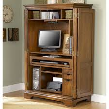 Riverside Seville Square Computer Armoire - Computer Armoires At ... Corner Computer Armoire Desk Build An With Fniture Ideas Of Unfinished With Folding Brown Lacquered Mahogany Wood Shutter Articles Solid Tag Fascating Images All Home And Decor Best Astonishing Cabinet To Facilitate Your Awesome Red Cherry For Modern Interior Design Exterior Homie Ideal Sauder Sugar Creek 103330 Excellent House Ikea