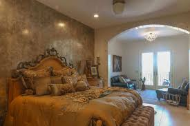 Custom Home 4d Design Bedroom Venetian Decorative Tile Archway