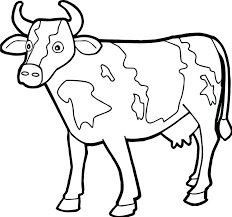 Pumpkin Patch Coloring Pages by Farm Animal Staying Cow Coloring Page 64 Wonderful Dog Preschool