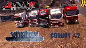 100 Viking Trucking ETS2MP Transports Weekly Convoy Happy YouTube