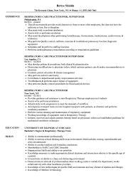 Download Respiratory Care Practitioner Resume Sample As Image File