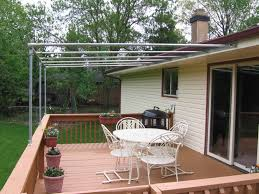 Tuftex Deck Drain Slope Bracket by Frame Canopy Cover Off 4 Deck Ideas Pinterest Canopy