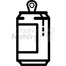 Royalty Free dripping soda can icon vector clip art image EPS SVG AI PDF illustration