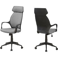 High Back Executive Office Chair In Grey Microfiber By Monarch Specialties Replica Charles Ray Eames Pu Leather High Back Executive Office Chair Black Stanton Mulfunction By Bush Business Fniture Merax Ergonomic Gaming Adjustable Swivel Grey Sally Chairs Guide How To Buy A Desk Top 10 Soft Pad Annaghmore Fduk Best Price Guarantee We Will Beat Our Competitors Give Our Sales Team A Call On 0116 235 77 86 And We Wake Forest Enthusiast Songmics With Durable Stable Height Obg22buk Rockford Style Premium Brushed Alinium Frame