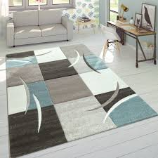 design teppich karo muster pastelltöne