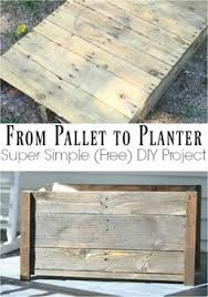 Quick And Easy DIY Planter Box Scrap Wood ProjectsDiy Craft ProjectsPallet