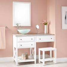 makeup vanity with drawers for a bedroom the homy design