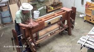 roubo workbench with double moxon vise u2022 1 of 8 u2022 intro youtube