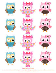 Owl Pumpkin Template Printable by Free Printable Party Invitations Owl Cupcake Toppers Template