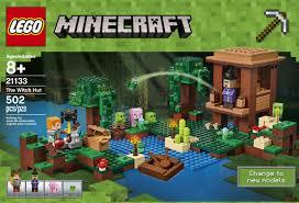 Minecraft Bedding Walmart by Lego Minecraft The Witch Hut 21133 Walmart Com