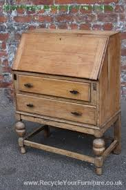 oak writing bureau furniture 30 best bureau restoration inspiration images on