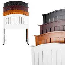 Leggett And Platt Twin Headboards by Finley Wooden Headboard Panel With Curved Top Rail Design Merlot