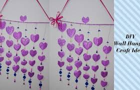 Modern Interior Design Medium Size Diy Wall Hanging Craft Ideas Using Colour Paper For Teenagers Decorating