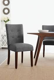 Dining Room Chairs Walmart Canada by Hometrends Grey Tufted Dining Chair Walmart Canada