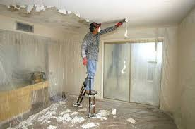how to remove a popcorn ceiling test texture for asbestos then
