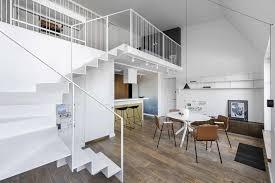 100 Mezzanine Design White Apartment White Surface Of Modern Interior