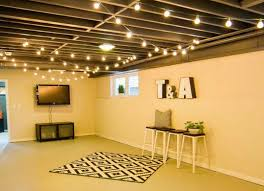 How to style an unfinished basement on the cheap
