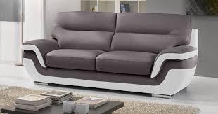 canap bicolore canape cuir bicolore design canapé idées de décoration de maison