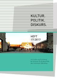 Mã Bel Hildesheim Kã Chen Kultur Politik Diskurs