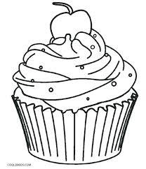 Cupcake Coloring Book Cupcake Coloring Book Cake Coloring Book Plus