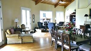 Living And Dining Room Combo Image For Furniture Arrangement Small