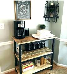 Stand Office Coffee Stations With Station Furniture Astonishing And Tea