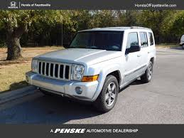 Jeep Commander Floor Mats by 2006 Used Jeep Commander 4dr 4wd At Toyota Of Fayetteville Serving