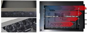 lian li dk q2x aluminium computer desk no psu black techbuy