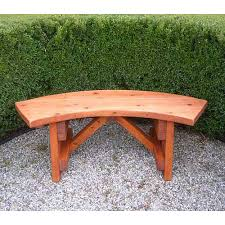 diy patio benches redwood outdoor curved bench benches wooden