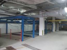 QDMY P2 2 Levels Basement Smart Card Parking System Automatic Car Park