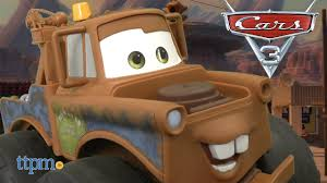 100 Tow Truck From Cars Disney Pixar 3 Max Mater From Jakks Pacific YouTube