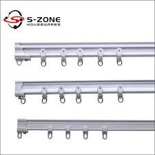 pvc plastic double rail hospital ceiling mount curtain track buy