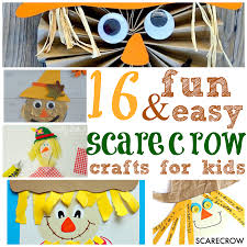 Halloween Books For Kindergarten by 16 Fun Scarecrow Crafts For Kids I Can Teach My Child