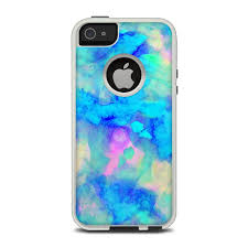 OtterBox muter iPhone 5 Case Skin Electrify Ice Blue by Amy