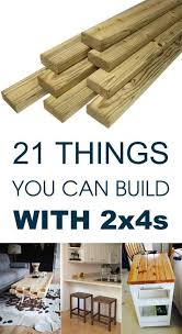 21 Things You Can Build With 2x4s Outdoor Sofa Kids Bench Stools