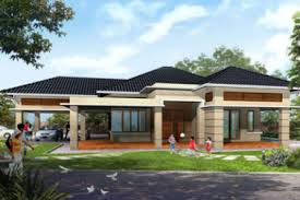 Single Story House Designs Rustic