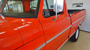 100 71 Ford Truck 19 F100 Sport Custom 4X4 Pickup Stock K03389 For Sale Near