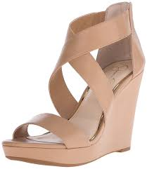 amazon com jessica simpson women u0027s jinxxi wedge sandal