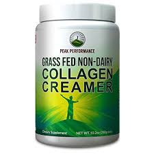 Grass Fed Non Dairy Collagen Creamer By Peak Performance Best Tasting Keto Paleo Friendly Low Carb Peptide Powder W Vital Amino Proteins MCT