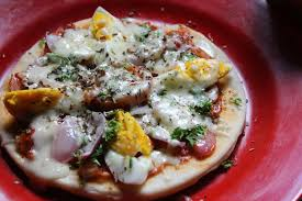 I Made This Ready To Cook Pizza Base Recipe Then Decided Use It In A Different But Easy So Thought Of Making Egg And