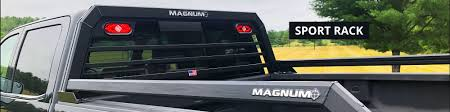 100 Pickup Truck Racks Headache Cab Protectos LED Light Bars Magnum