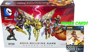 dc comics dc deck building game heroes unite by cryptozoic